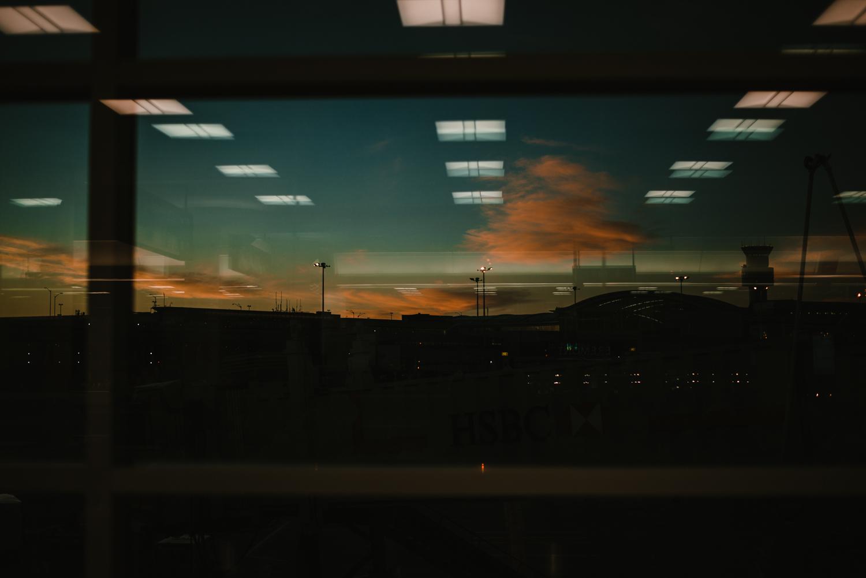 Pearson Airport Sunrise